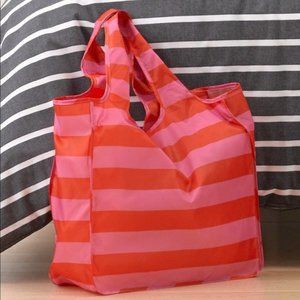 KATE SPADE Reusable Grocery Bag Red/Pink